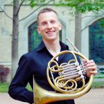 David Cooper with his French horn