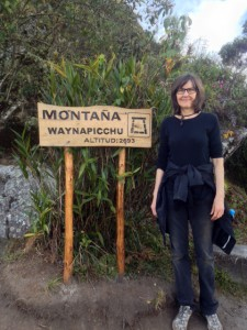 Feldenkrais helped Janet climb Waynapicchu.