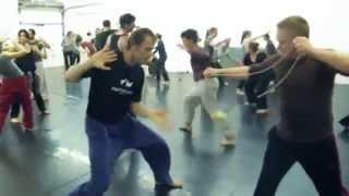 Fighting Monkey practice