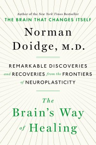 The cover of The Brain's Way of Healing by Norman Doidge, MD