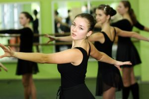 Students in a ballet class. Dancers may think back pain's inevitable, even when they're young. It's not!